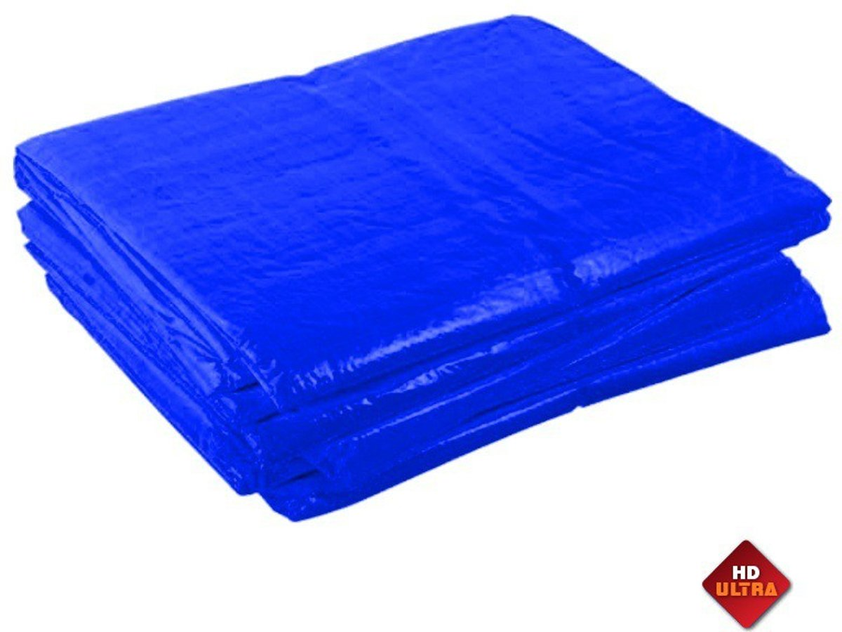 Blauw afdekzeil 10x20m 250gr/m² kopen
