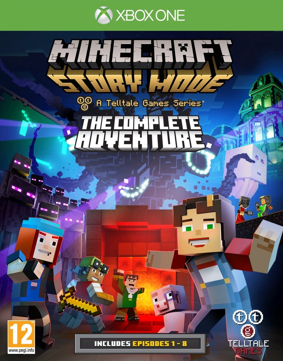 Minecraft - Story Mode: The Complete Adventure - Xbox One voor €7,99