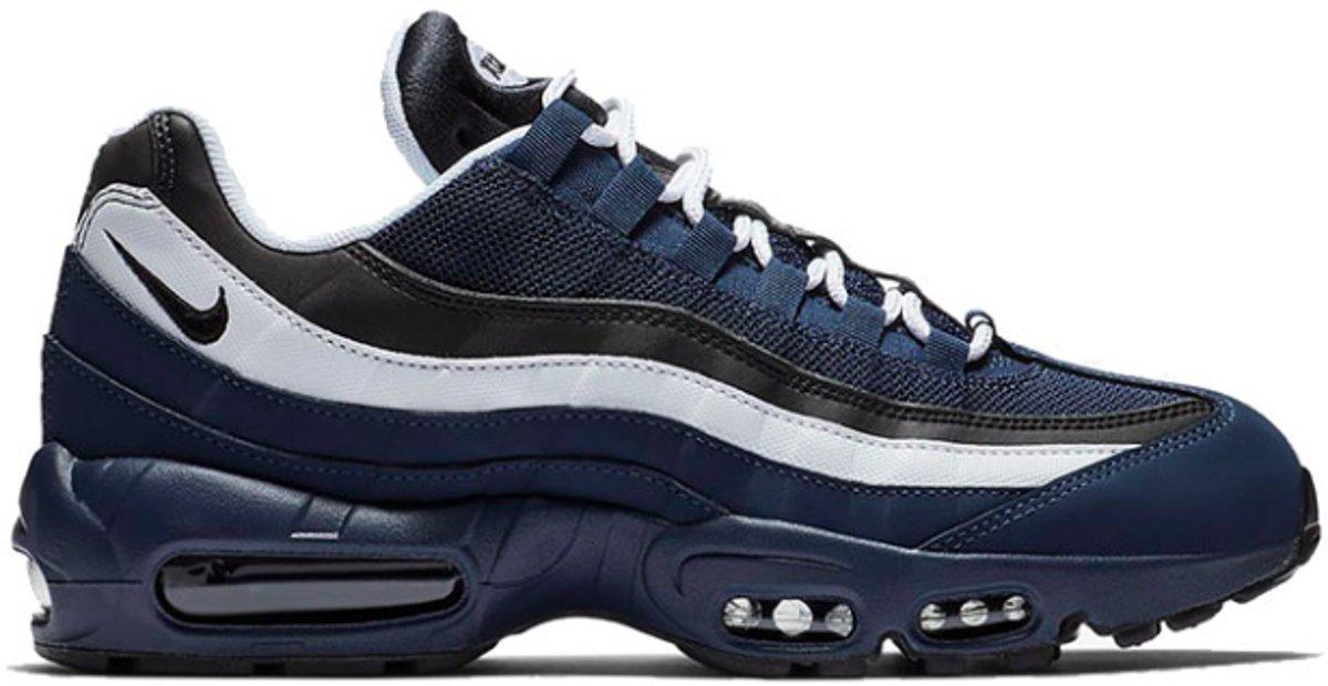 | Nike Air Max 95 Premium 749766 408 Blauw Wit