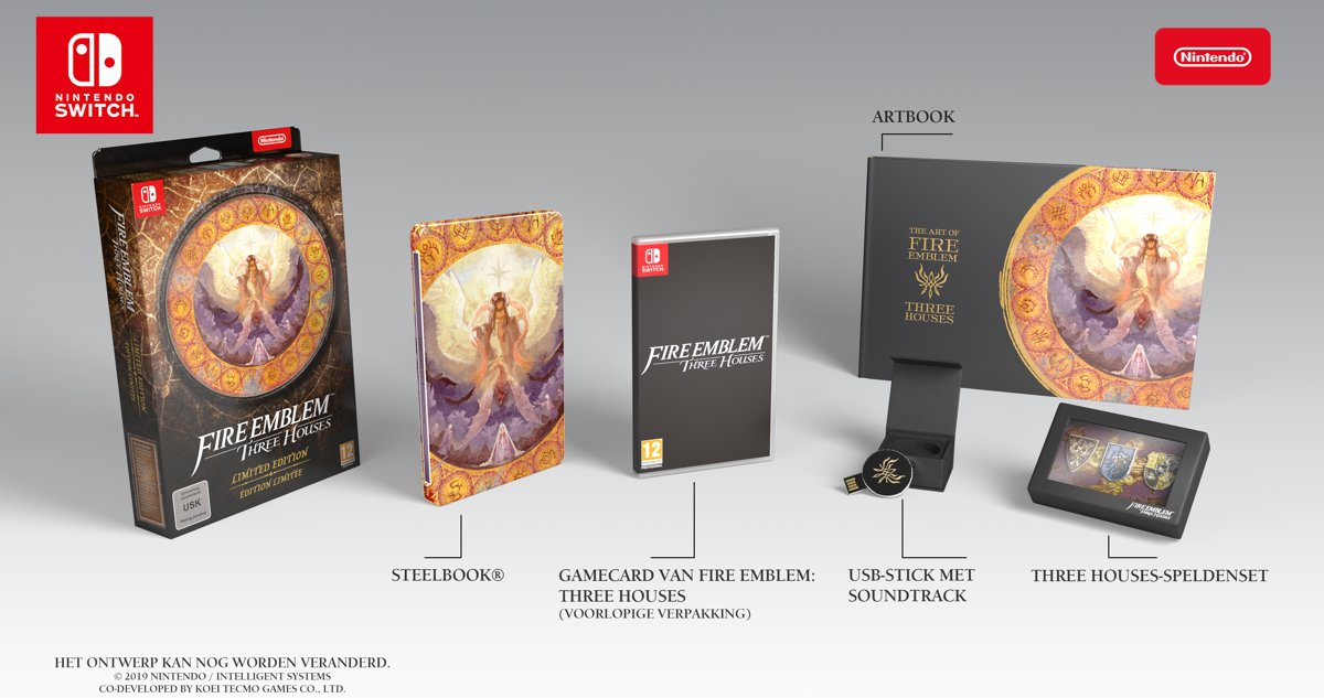 Fire Emblem: Three Houses - Limited Edition - Switch kopen