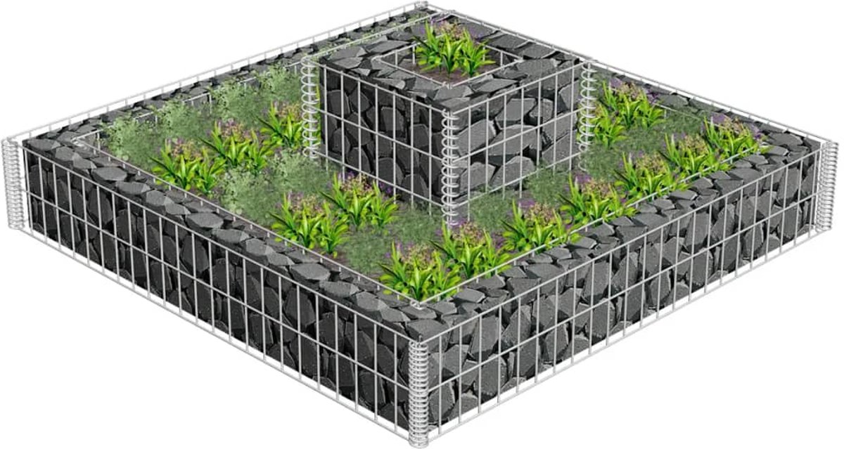 Steenkorf met verhoging kopen