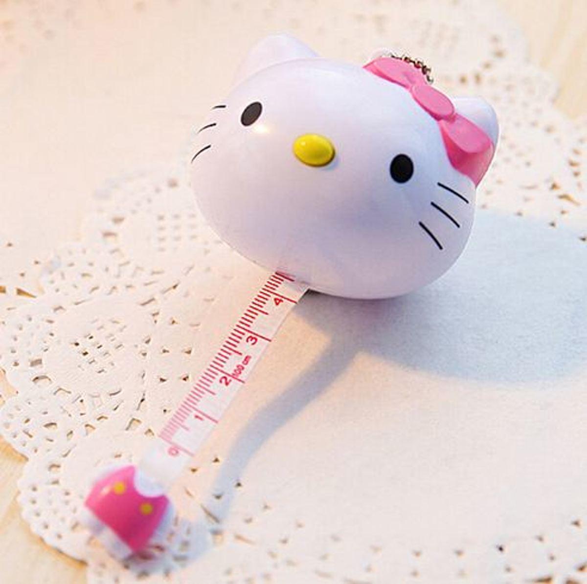 Hello Kitty rolmaat 100 cm kopen