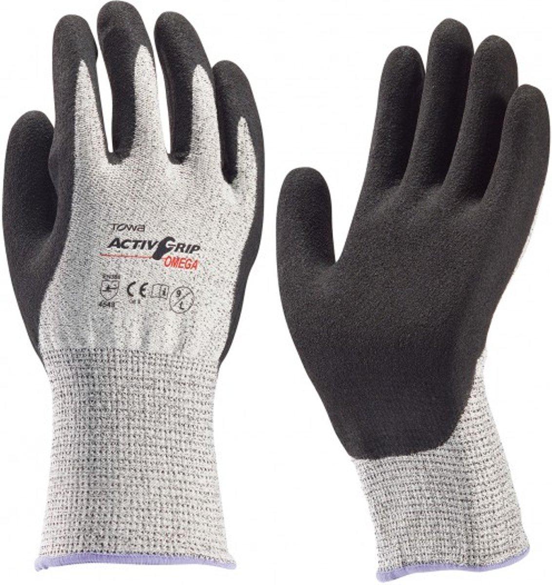 ActivGrip Omega Werkhandschoen Towa - Maat XXL - Nitril Handschoenen - Snijbestendige Handschoenen kopen