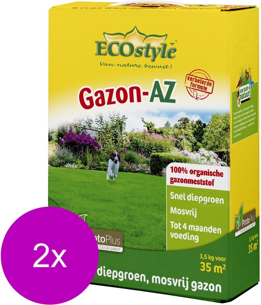 Ecostyle Gazon-Az 35 m2 - Gazonmeststoffen - 2 x 3.5 kg kopen