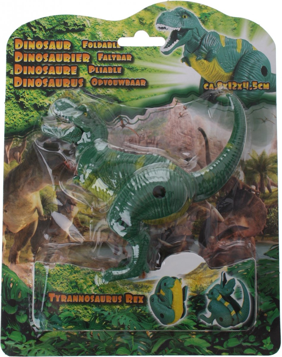 Eddy Toys Mini Dino T-rex Groen 8 Cm kopen