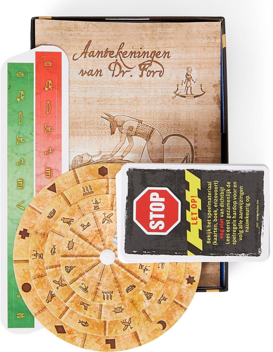 7da6c0f9d5e bol.com   EXIT De Grafkamer van de Farao - Escape Room - Bordspel, 999 Games    Speelgoed