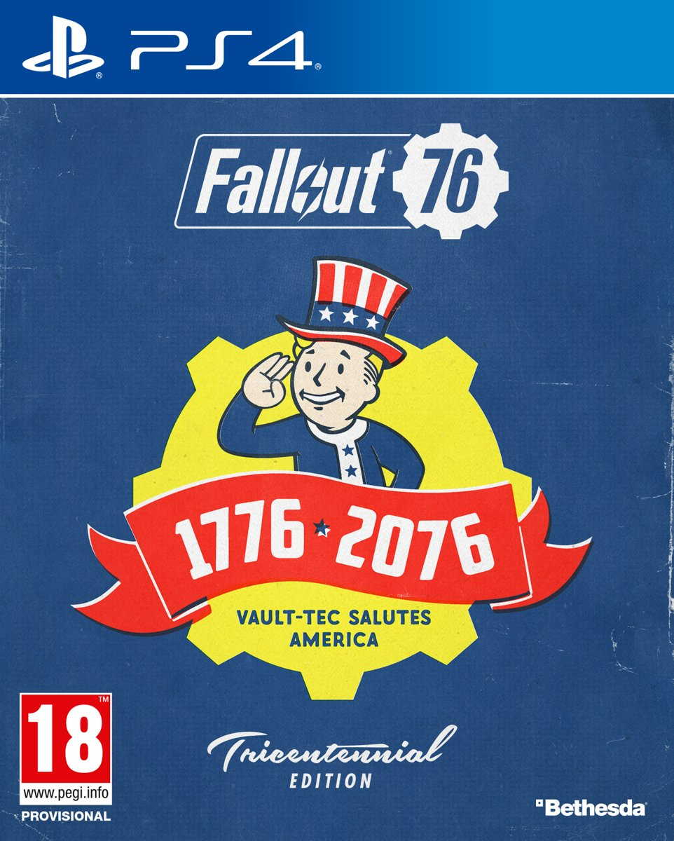 Fallout 76 - Tricentennial Edition PlayStation 4