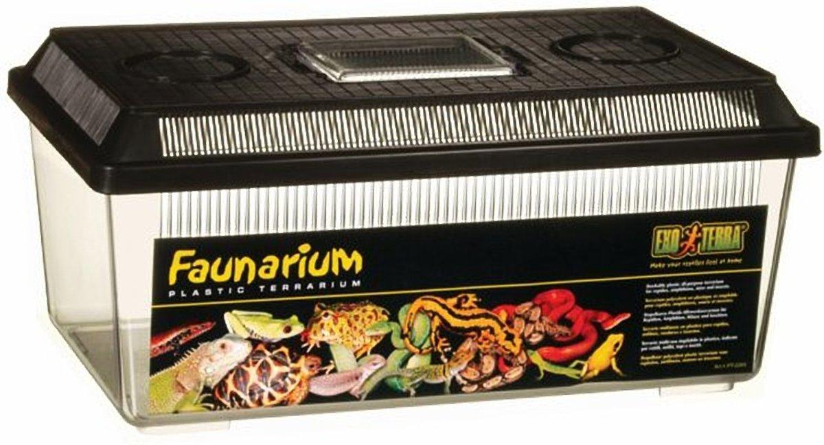 Exo Terra Terrarium faunarium vlak M 37x22x16,5 cm
