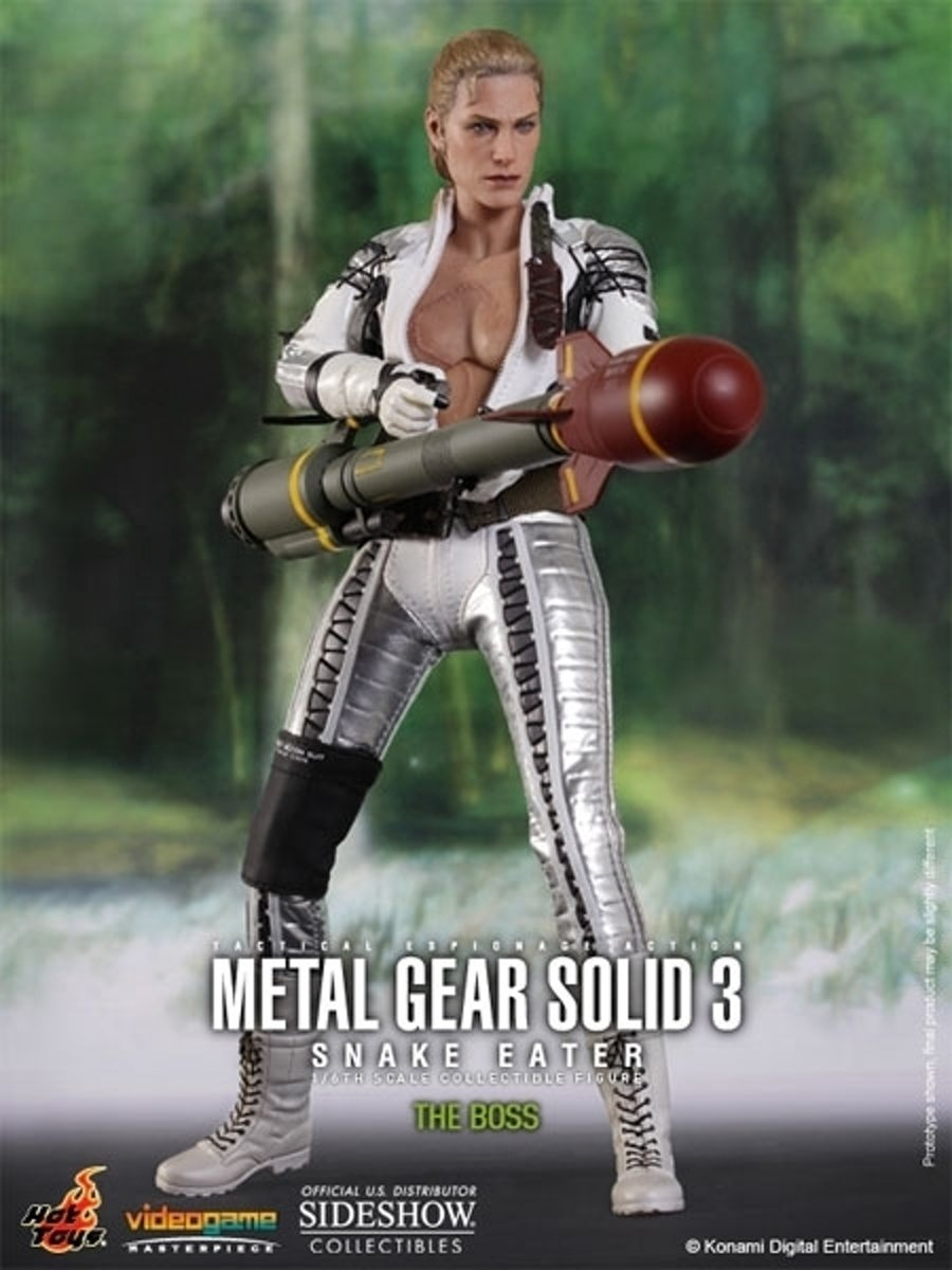 Metal Gear Solid 3: The Boss 1/6 Scale Collectible Figure