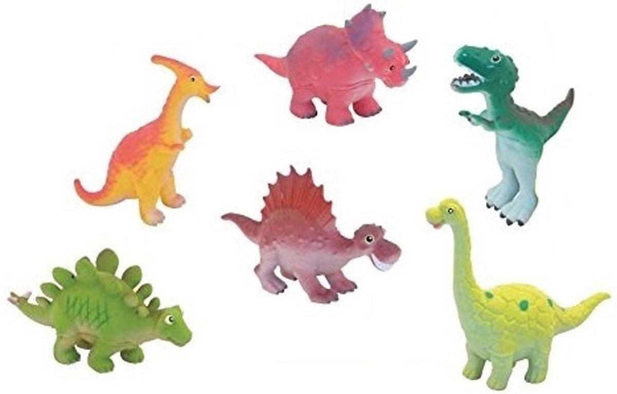 Nicnac Mini cartoon: 6 dinosaurussen kopen