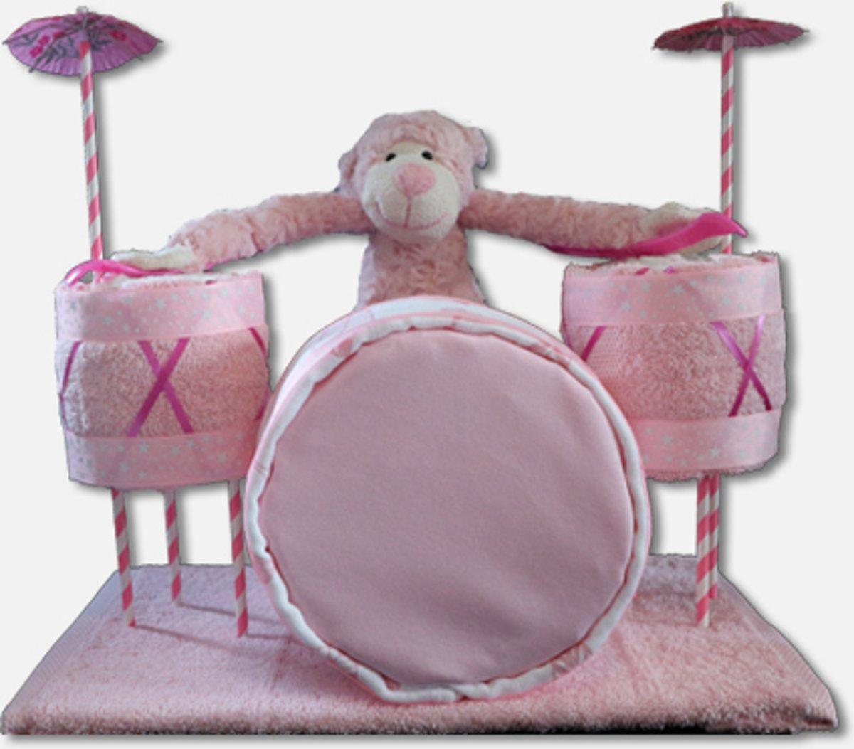 Drummer Luiertaart Meisje kopen