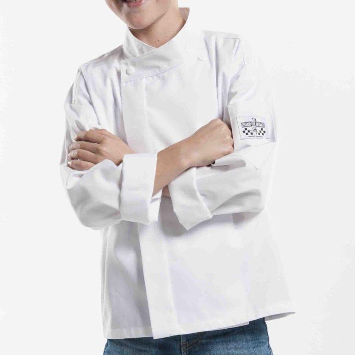 Chaud Devant - Chef Jasje, Koksbuis voor kinderen - Wit - 104 - 110 = 3 - 4 jaar kopen
