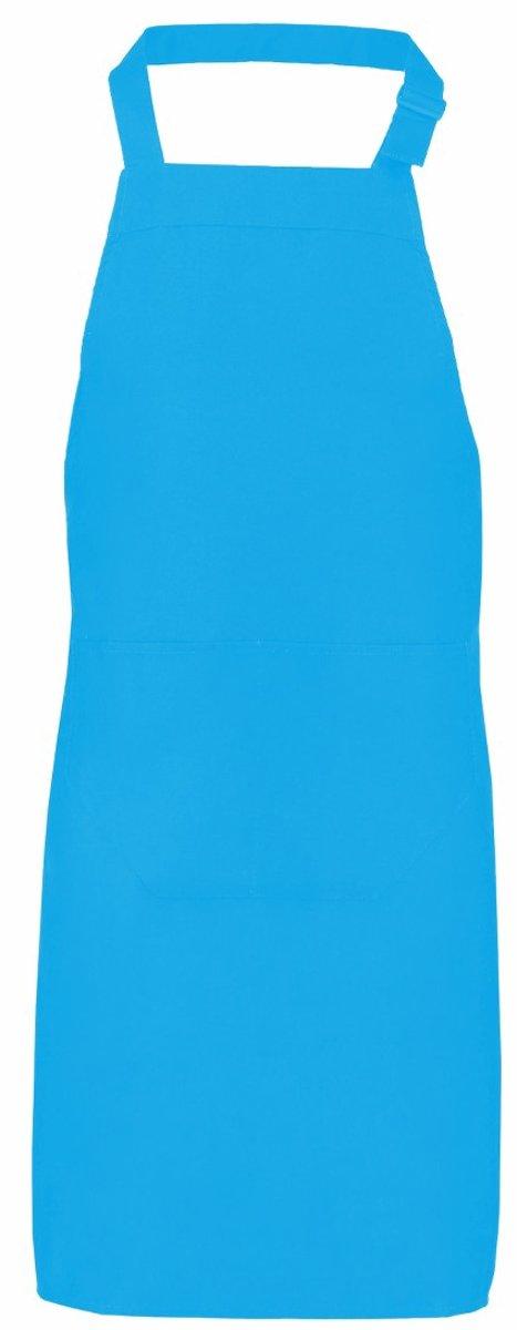 Benza Schort Keukenschort - Turquoise - 70 x 85 cm kopen
