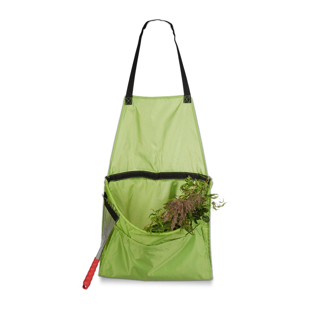 relaxdays - tuinschort voor onkruid of oogst - eenvoudig te legen - tuin schort kopen