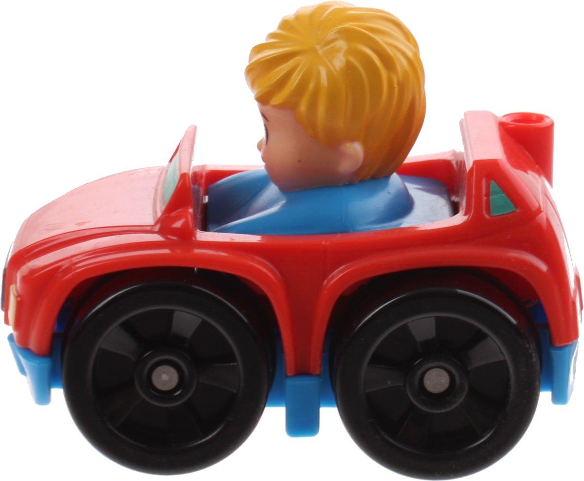 Fisher-price Little People Wheelies Auto 6,5 Cm Rood (drg94)