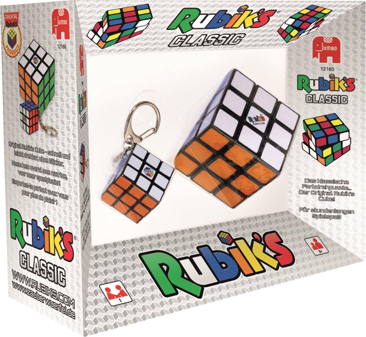 Rubiks 2in1 3x3 Cube + Sleutelhanger kopen