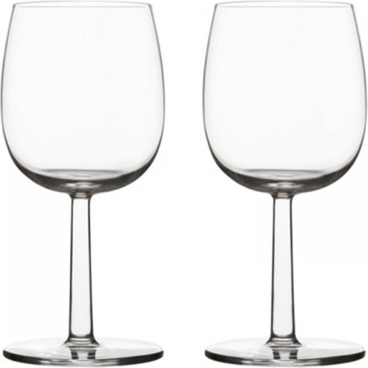 Iittala Raami Rood wijnglas 28cl 2stuks kopen