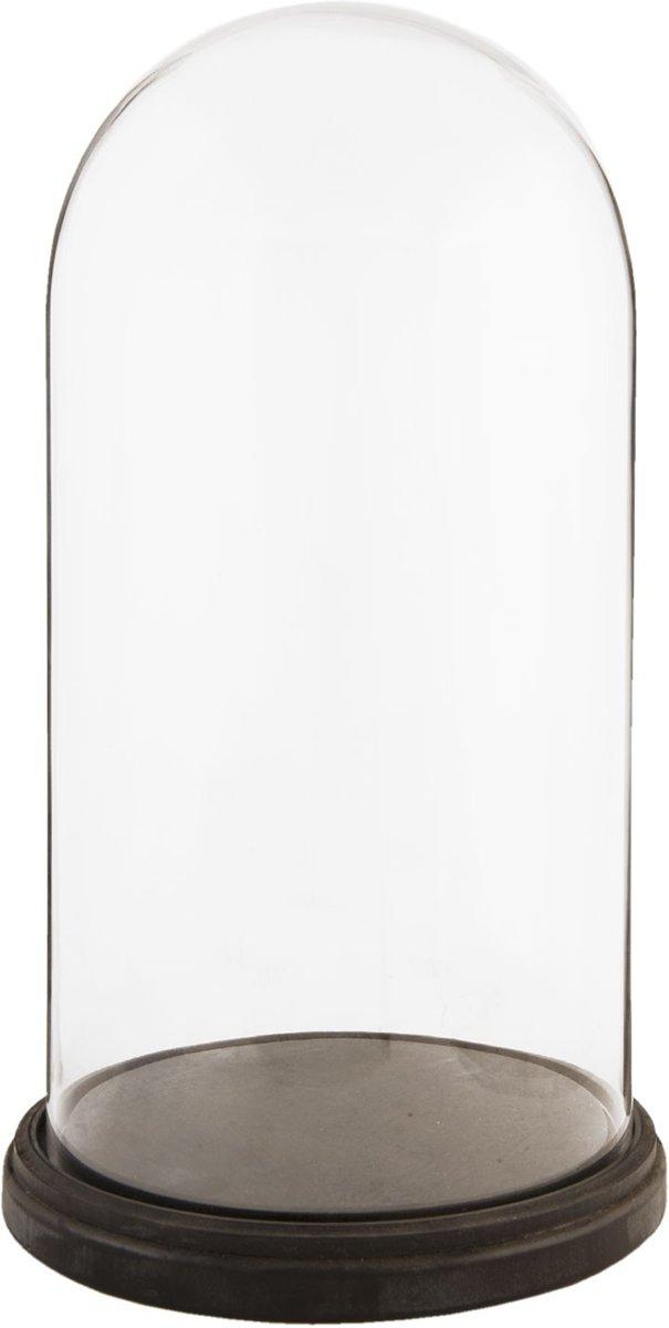Clayre & Eef - glazen stolp Ø 26 x 47 cm - 5GL1273 kopen