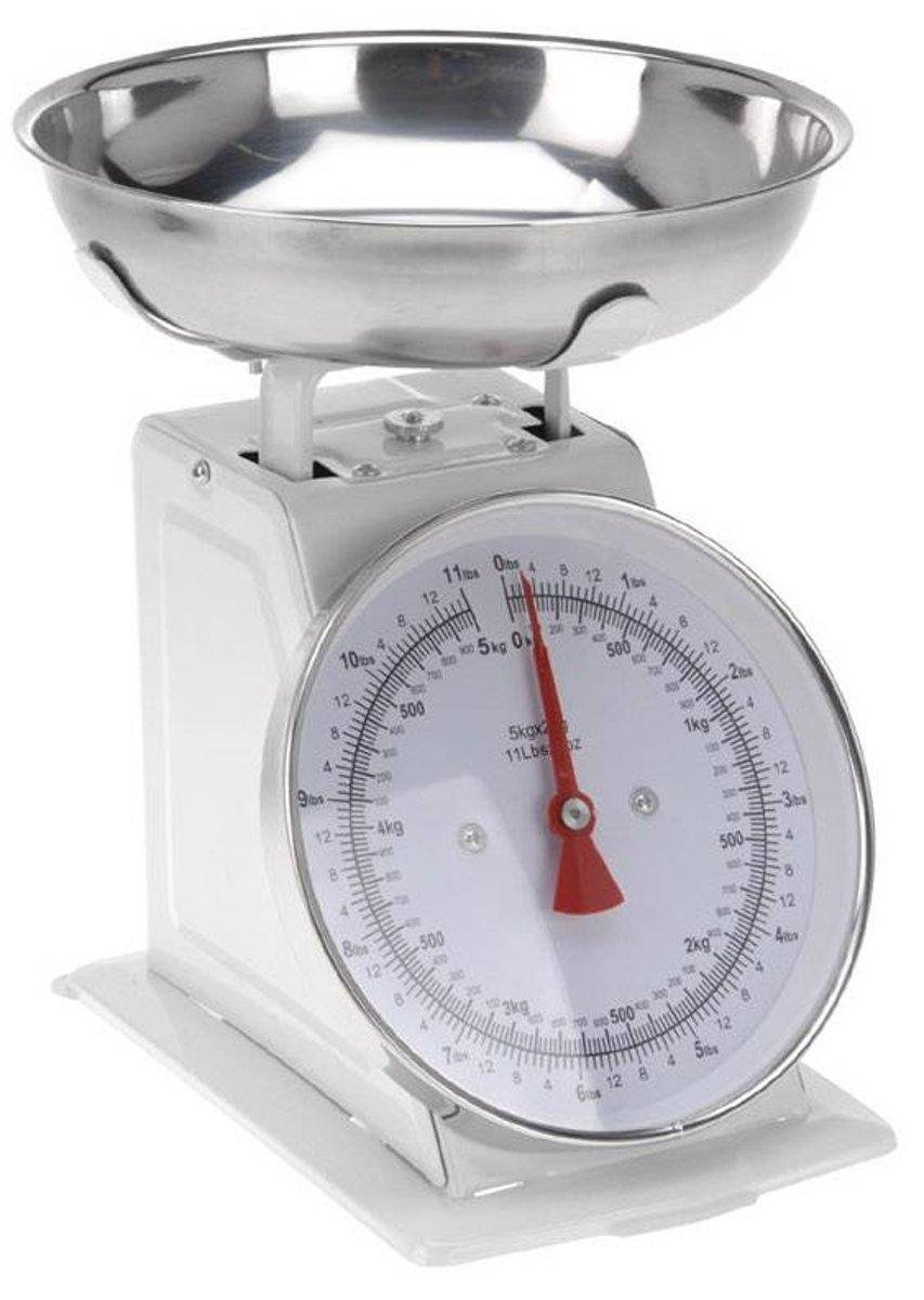Keukenweegschaal (mechanisch)
