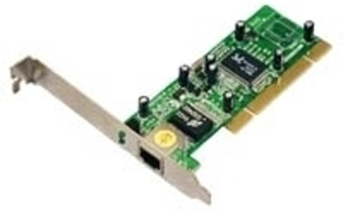 Image of Eminent 10/100/1000 Mbps PCI Networking adapter (8716065003420)