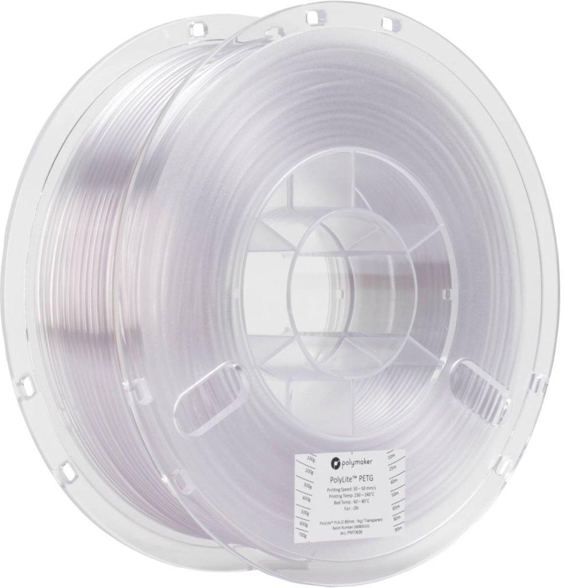 Polymaker PolyLite PETG Transparent 1kg kopen