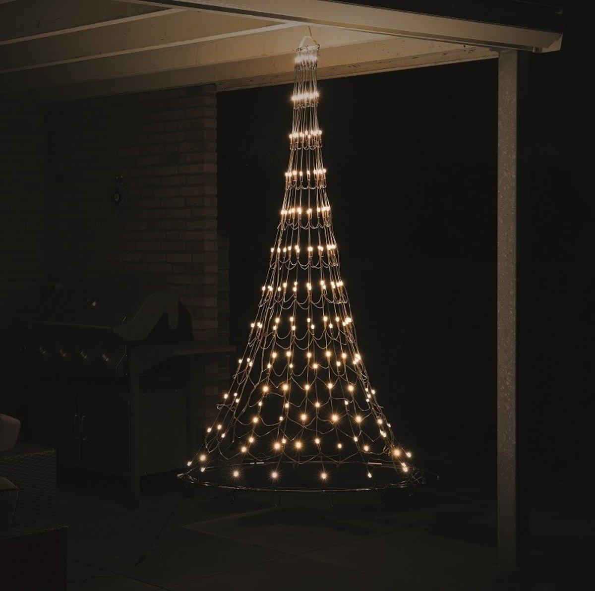 Nordik Lights - Hangende kegelkerstboom-1,80 cm - 196 warmwitte LED lampjes kopen