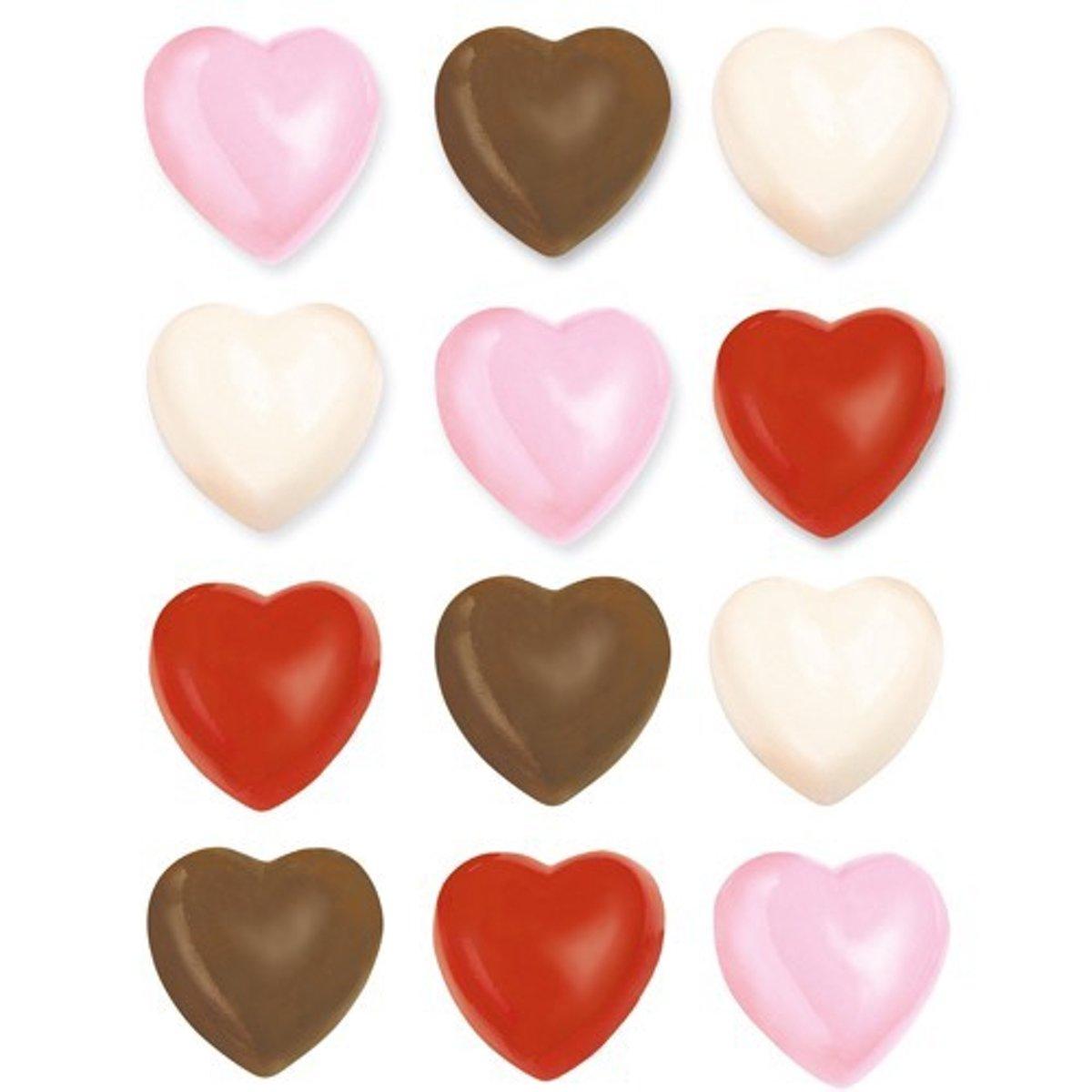 Wilton Candy Mold Hearts kopen