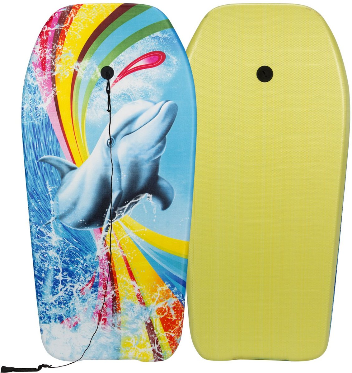 Waimea Bodyboard - Print - Geel