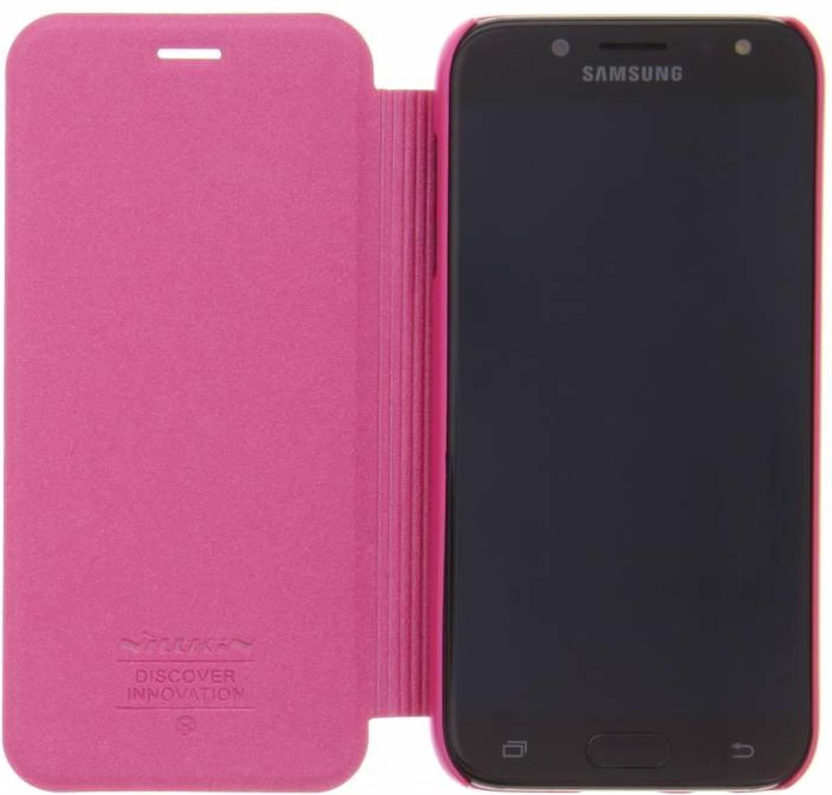 clat Fuchsia Booktype Smart Cover Pour Samsung Galaxy J5 (2017) u1LNvHovzm