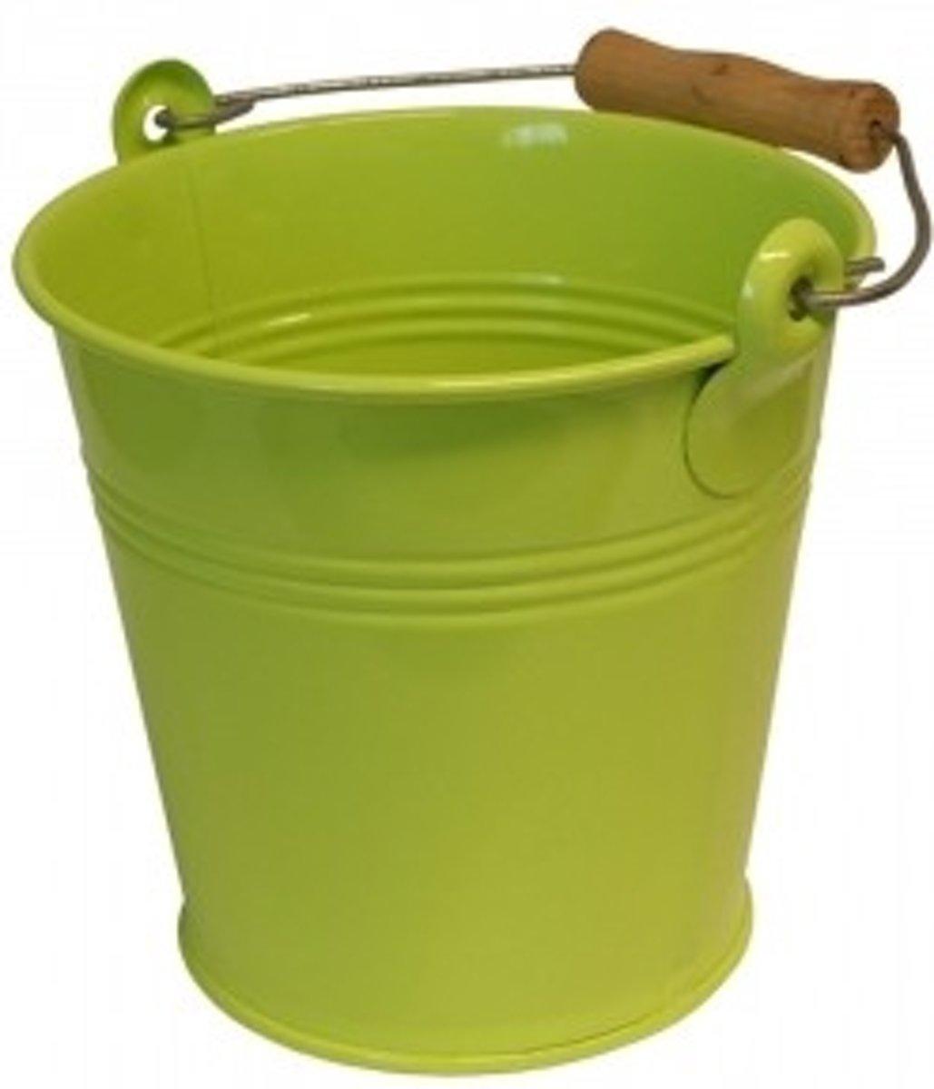 Metaal Emmer Lime 12 liter kopen