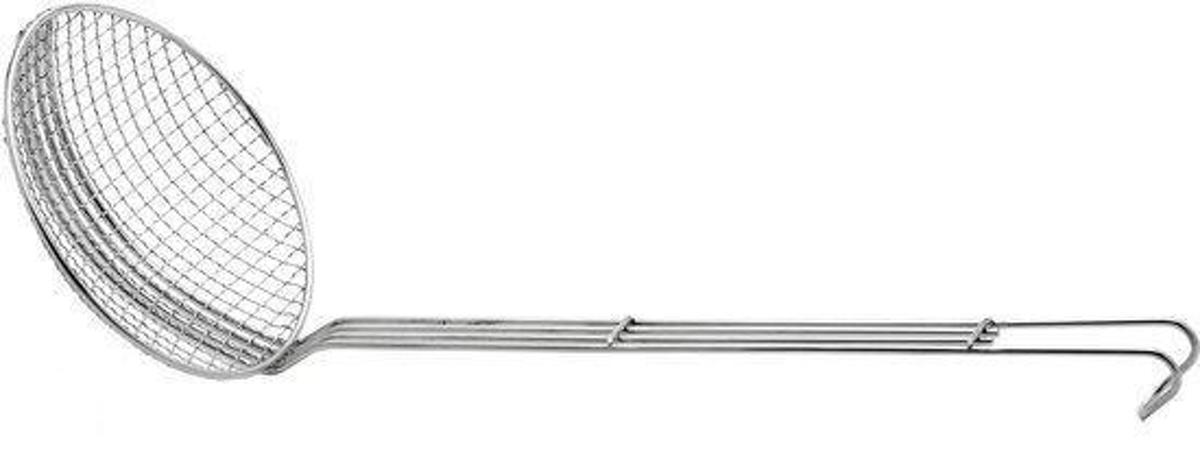 Weis Schuimspaan - Grof - 12 cm - RVS kopen