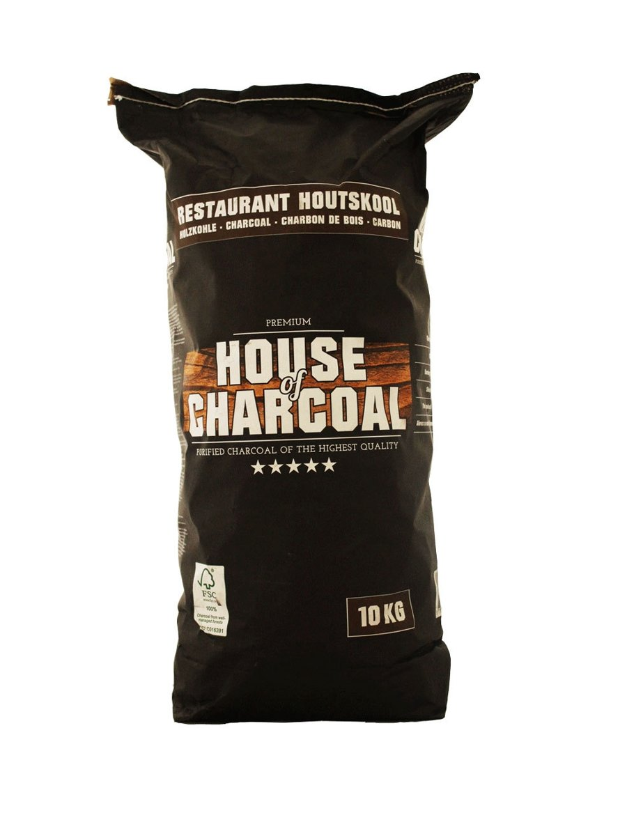 House of Charcoal Acacia Restaurant Houtskool FSC 10kg kopen