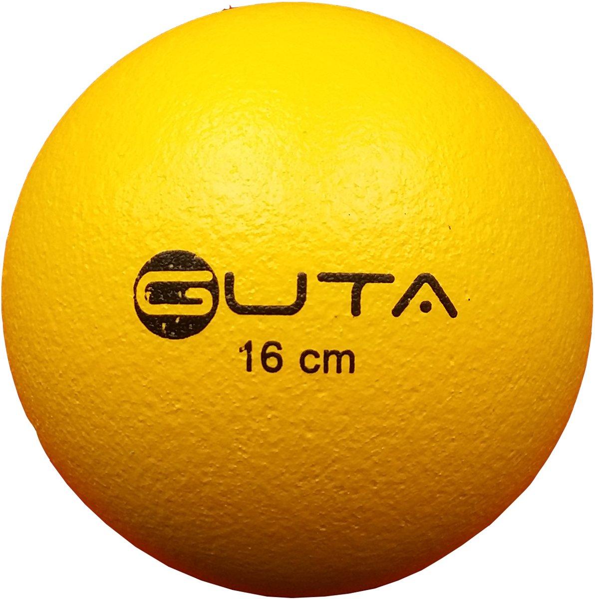 Guta Trefbal | Foambal Olifantenhuid 16 cm Geel kopen