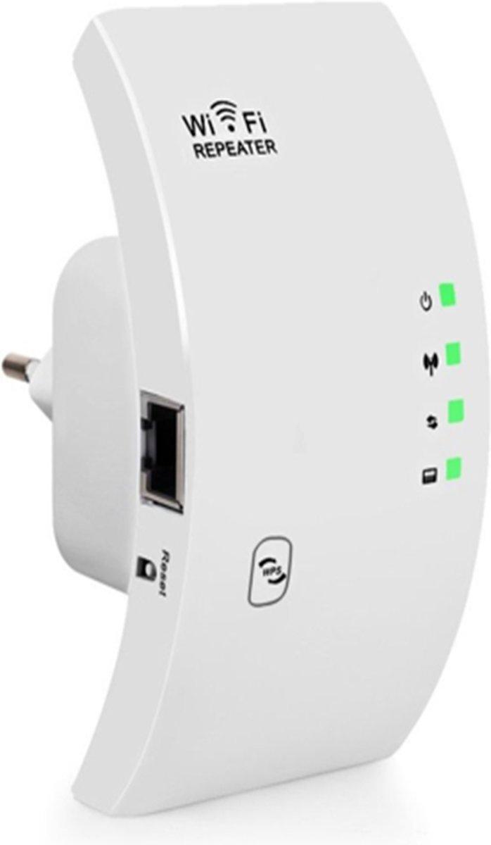WiFi Signaal Versterker - 300 Mbps - WiFi Repeater - Zwart&Wit - (PC-MAC-ANDROID-IOS) kopen