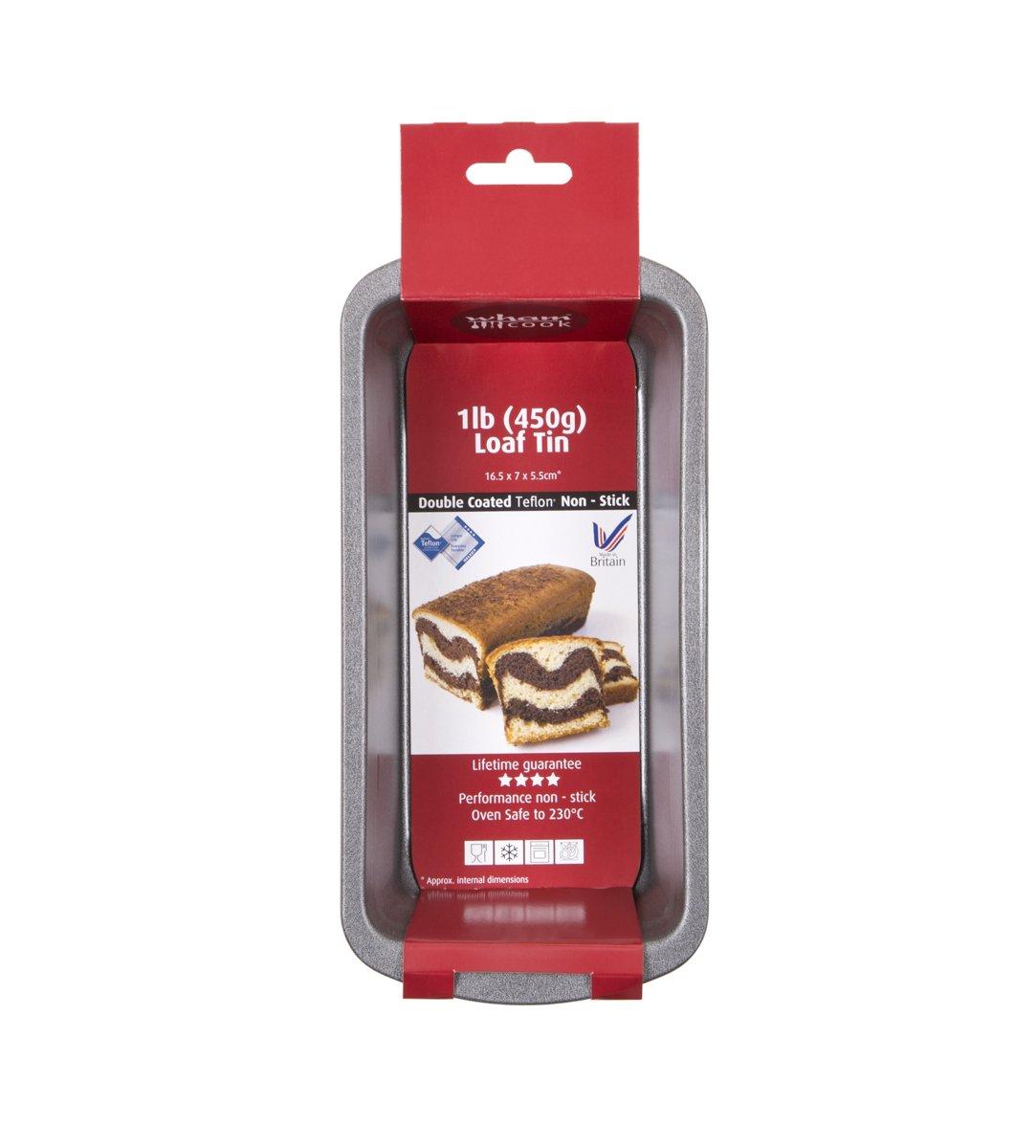 Wham Cook Essentials Bakvorm - Non Stick - Voor Cake - 450 gram kopen