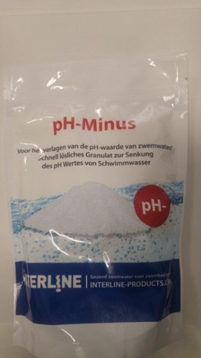 Interline pH-minus granulaat zak a 640 g