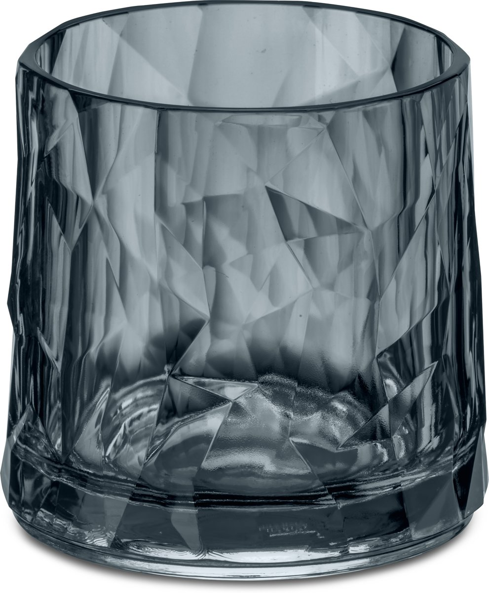 Koziol CLUB NO. 2 Superglas 250ml transparent grey kopen