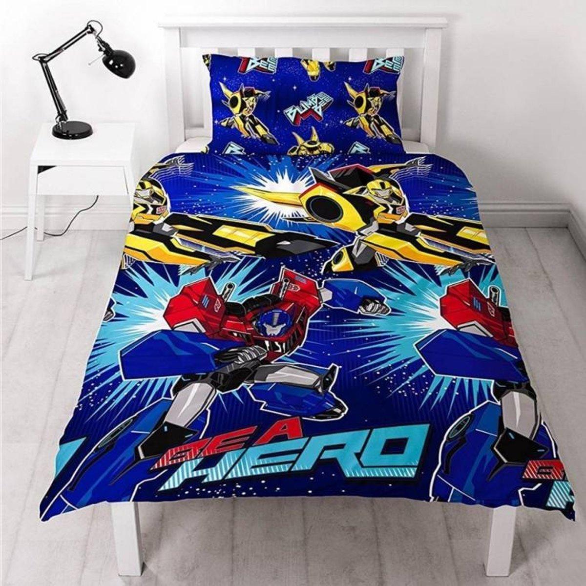 Transformers Hero - Dekbedovertrek - Eenpersoons - 135 x 200 cm - Multi kopen