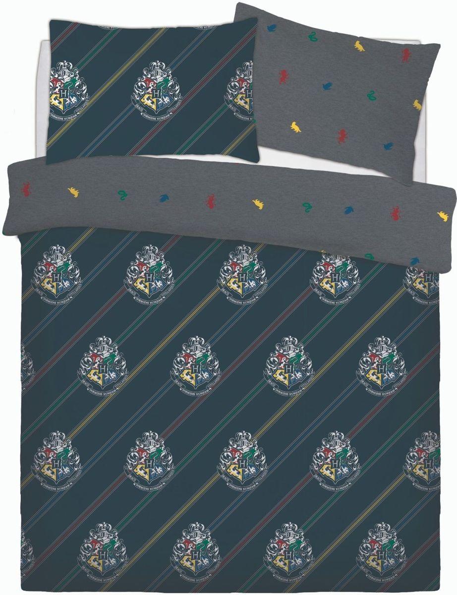 Harry Potter 2 persoons dekbedovertrek - 200 x 200 cm met 2 kussenslopen kopen