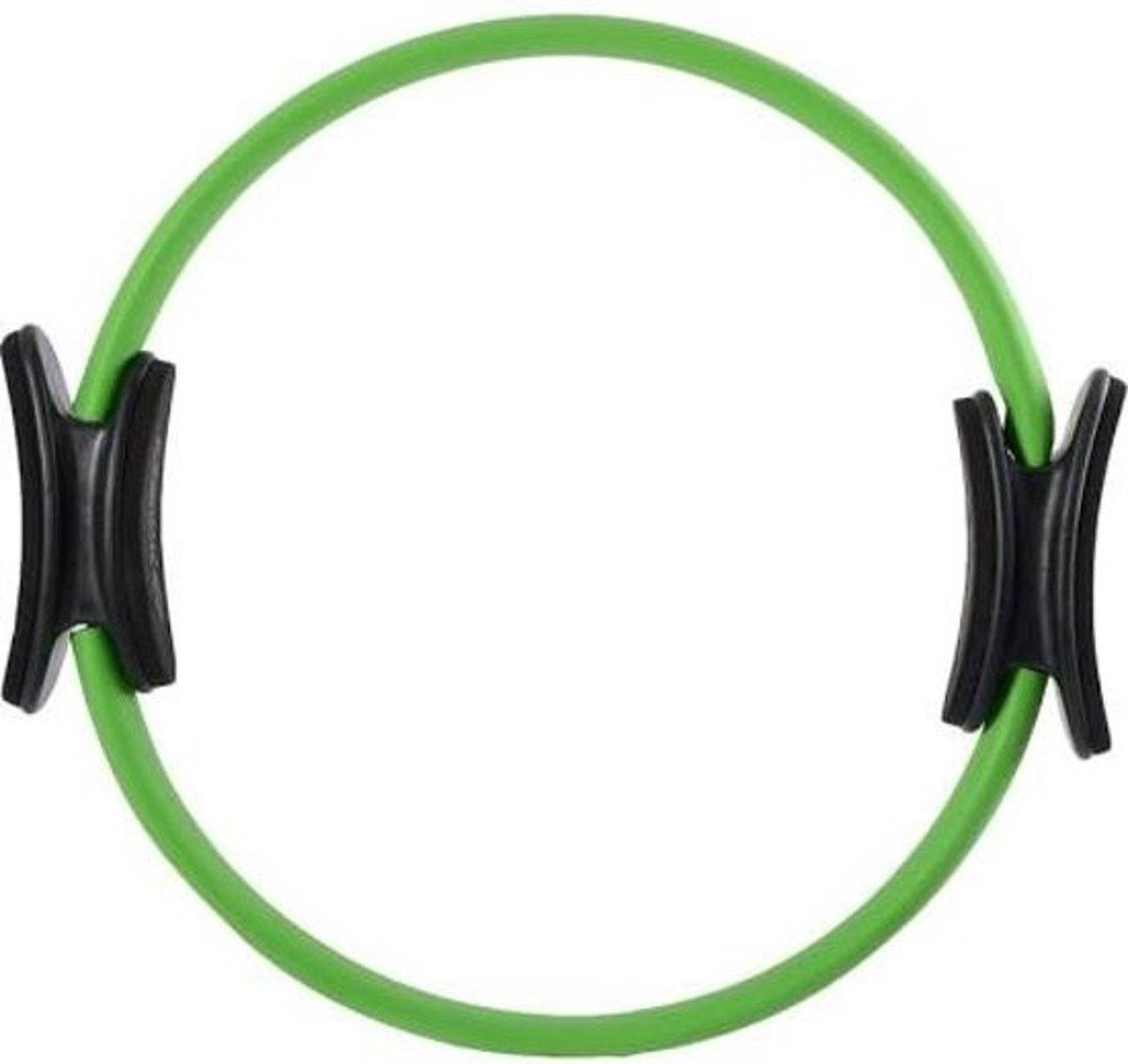 Schildkröt Fitness Pilates ring - Diameter 38 cm - Glasvezel - Groen/Antraciet kopen
