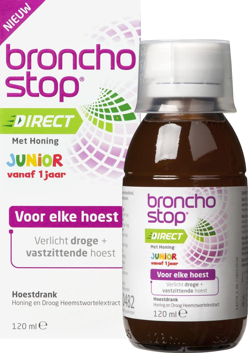 Bol Com Bronchostop Direct Hoestdrank Junior Met Honing