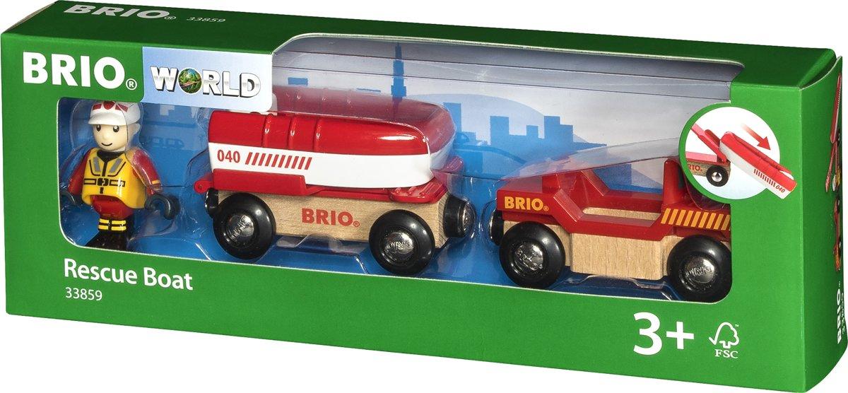 BRIO Brandweer boot - 33859