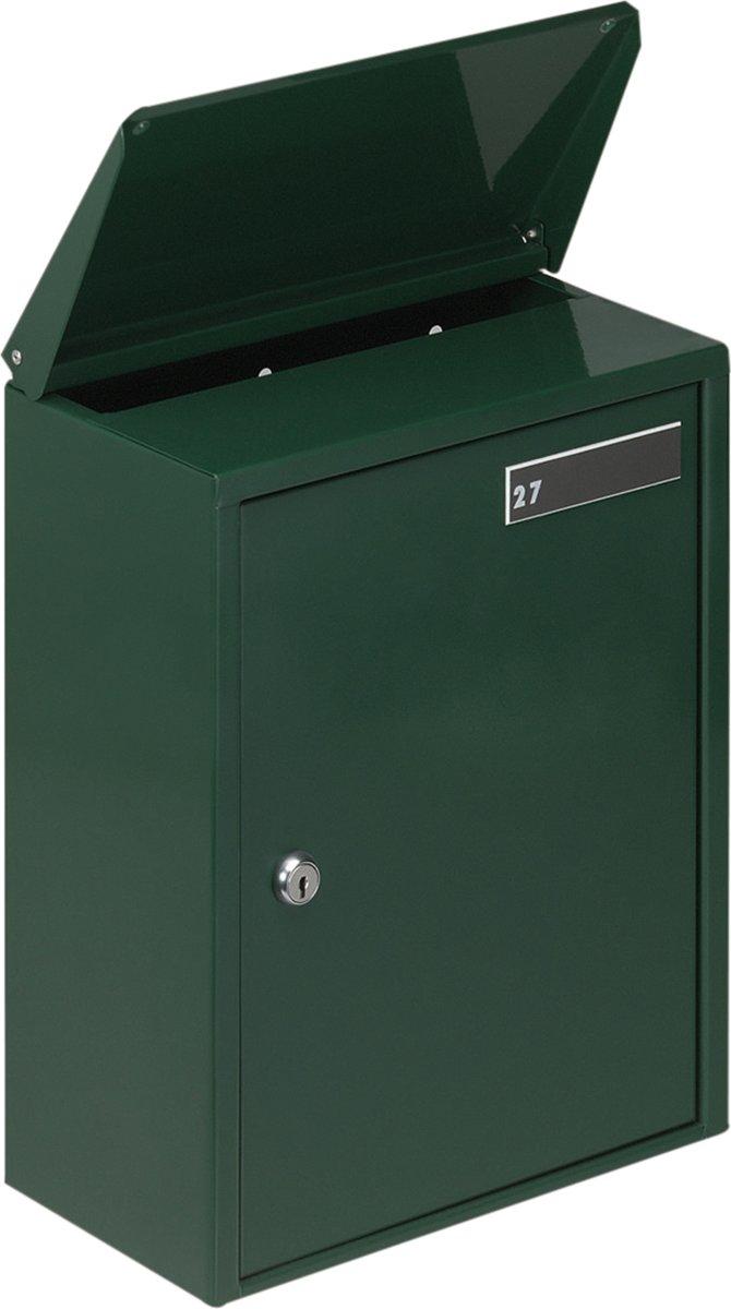 Beaumont brievenbus groen