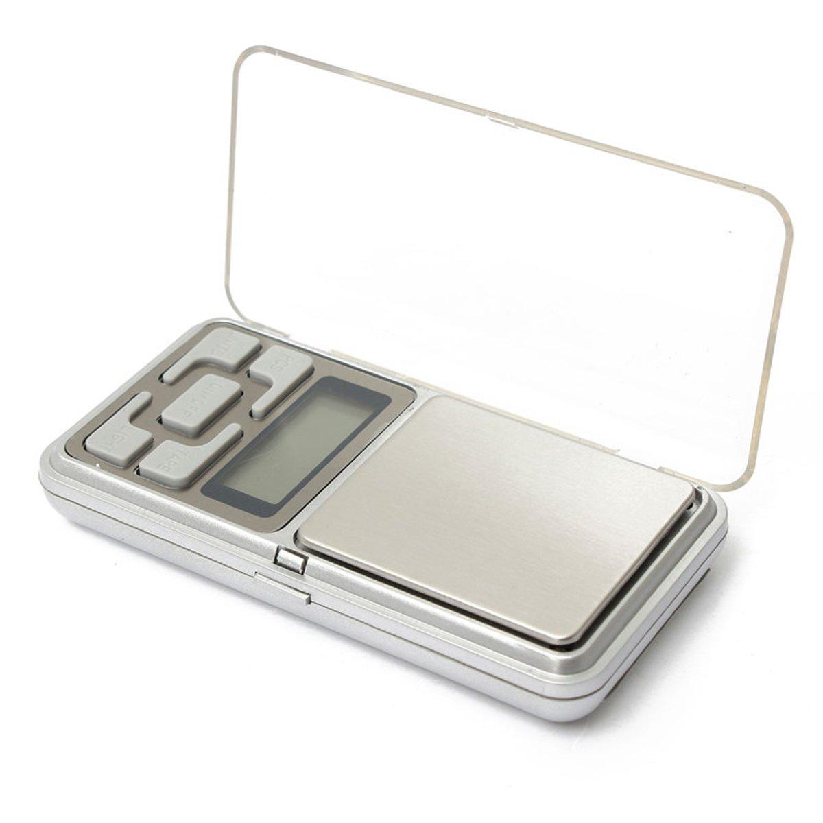 Precisie weegschaal - Pocket weegschaal - Zakweegschaal - Keukenweegschaal - 500gr x 0.1 gr nauwkeurig