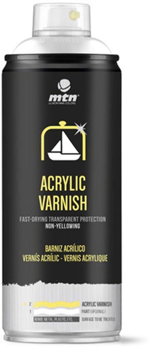 MTN Pro Acryl Vernis - Mat 400ml - canvas, textiel, metaal, hout, glas etc. kopen