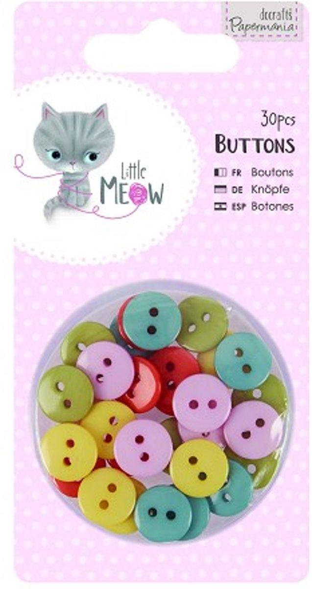 Buttons (30pcs) - Little Meow kopen