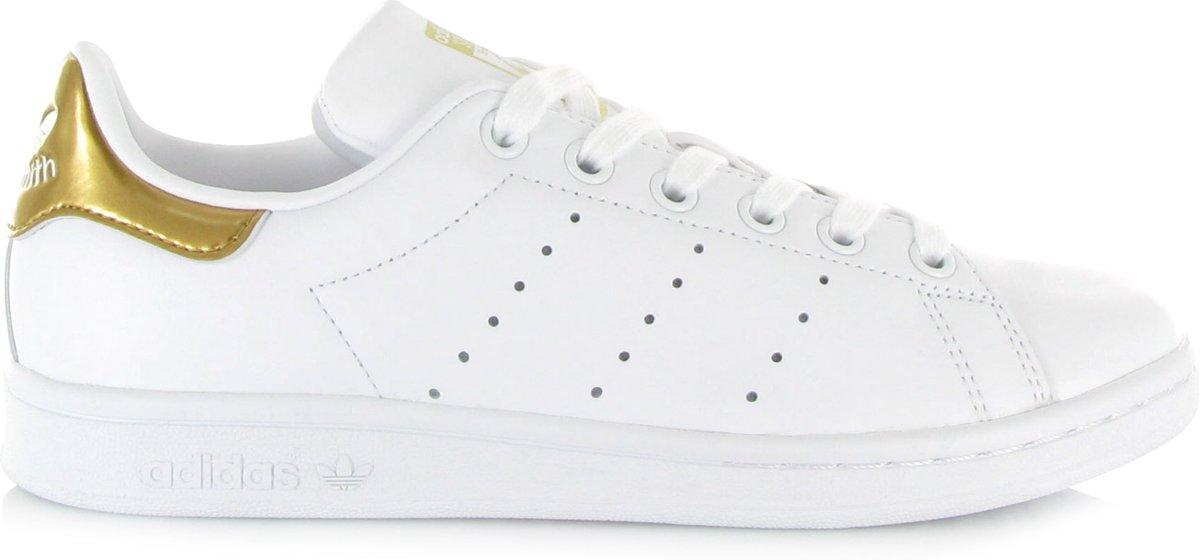 Adidas Stan Smith sneaker wit/goud maat 42