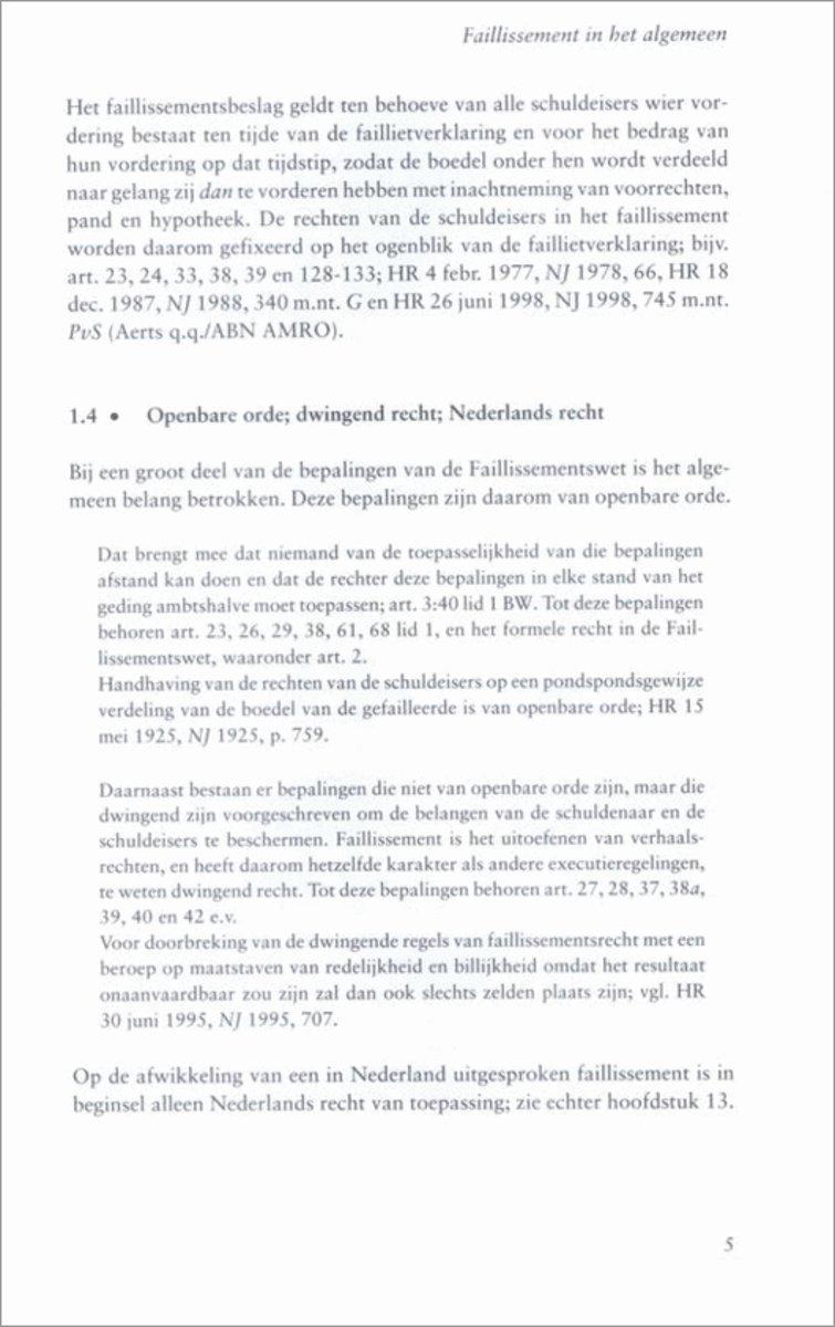 Bekend bol.com | Faillissementsrecht | 9789013023343 | N.J. Polak | Boeken XG-34