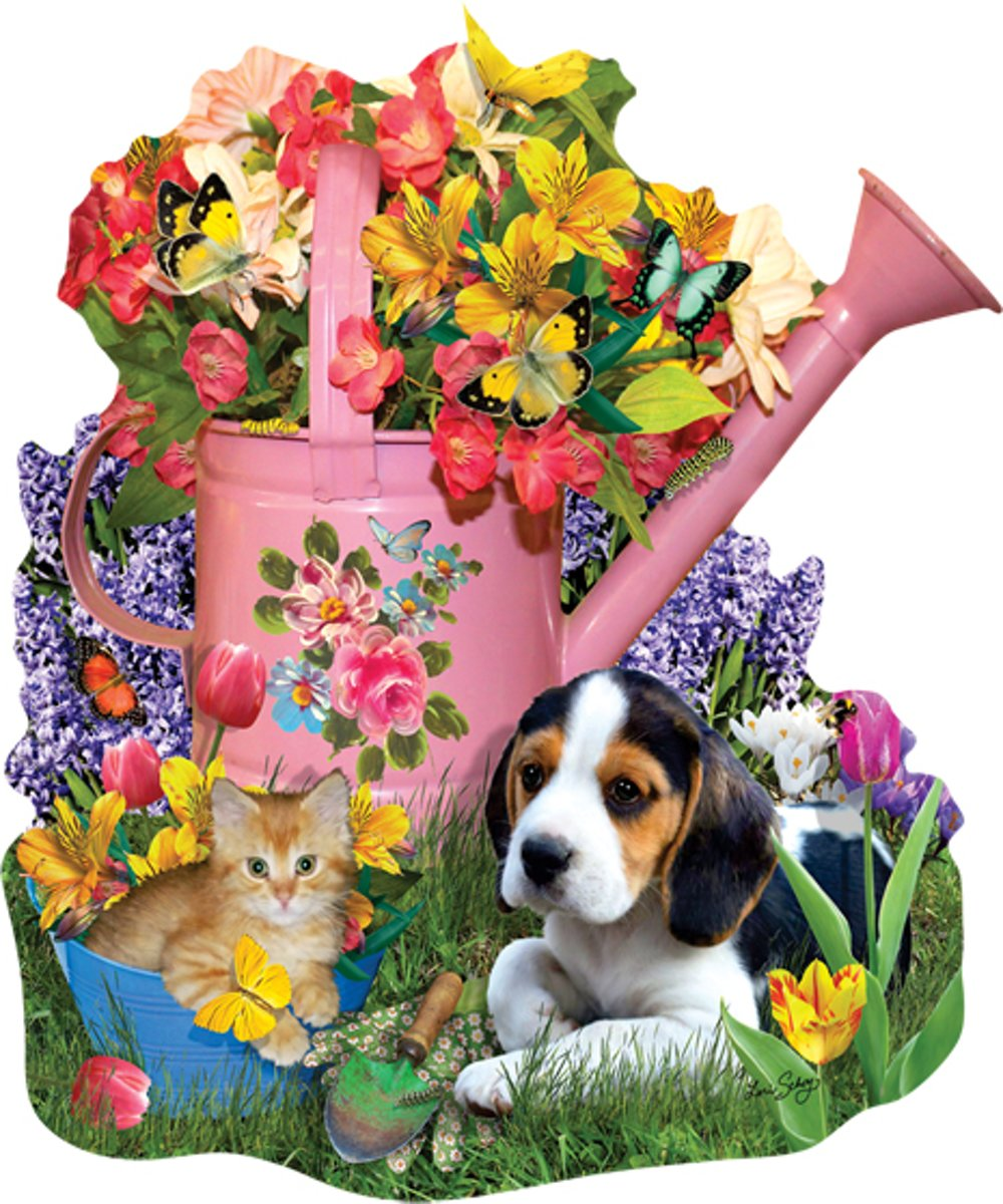 SunsOut shaped legpuzzel Spring Watering Can kopen