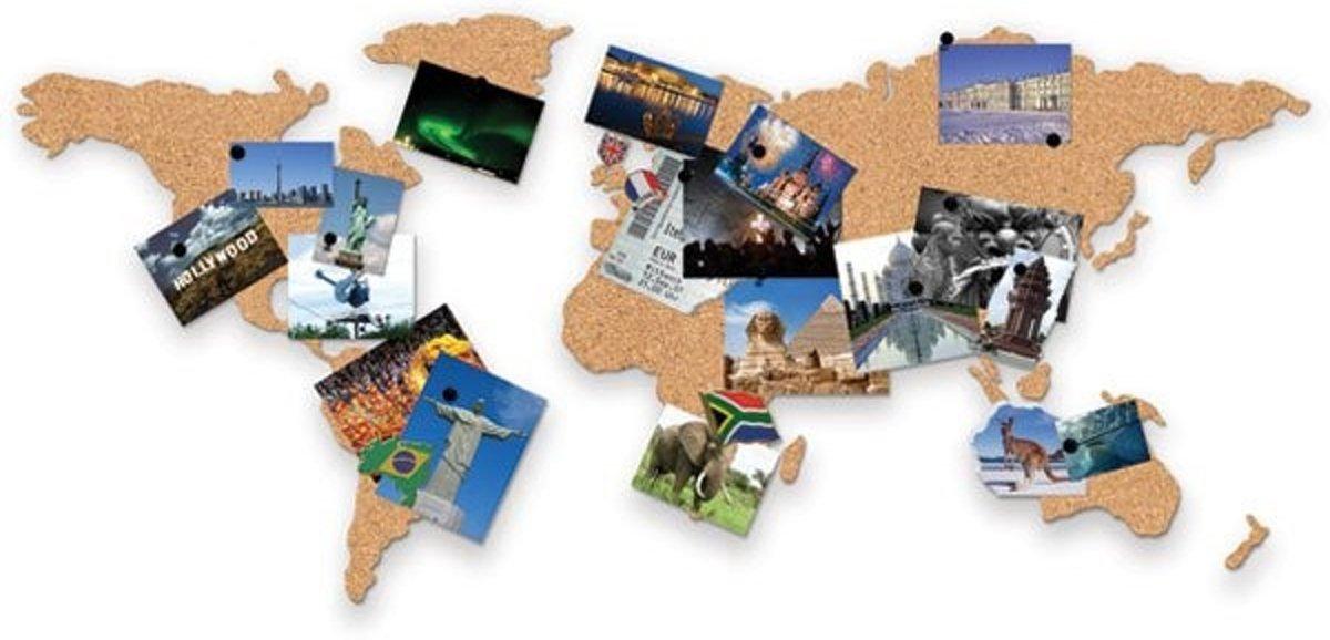 Kurkprikbord Wereldkaart kopen